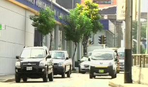 Malos conductores también infringen en calles de Miraflores