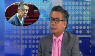 Alberto Fujimori: César Nakazaki establece diferencia entre indulto ordinario y humanitario