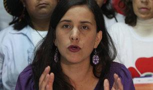 Verónika Mendoza se pronuncia tras renuncia de PPK