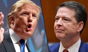 Donald Trump destituye al director del FBI