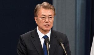 Moon Jae-in asume la presidencia de Corea del Sur