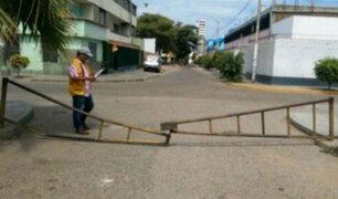 Trujillo: municipalidad retirará tranqueras no autorizadas