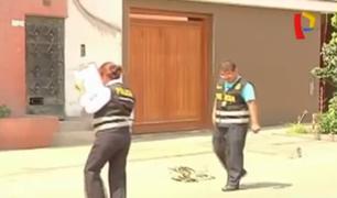 Ate: mujer resultó herida tras resistirse al robo de su cartera