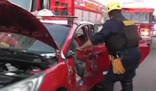 Santa Beatriz: chofer que ocasionó accidente continúa prófugo