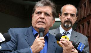 """Alan García: """"Espero tranquilo las delaciones que llegarán de Brasil"""""""