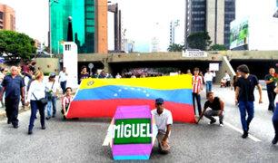 Venezuela: realizan marcha en homenaje a víctimas de represión chavista