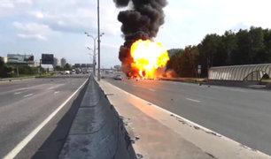 República Dominicana: camión que transportaba gas propano estalló en plena calle