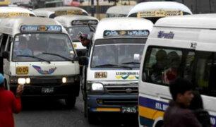 MTC: Combis desaparecerían debido a nuevo modelo de transporte