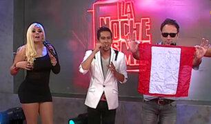 Mago Afi presentó su show de magia en La Noche es Mía