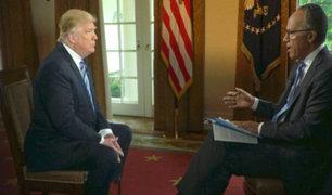Donald  Trump reveló detalles sobre despido de jefe del FBI