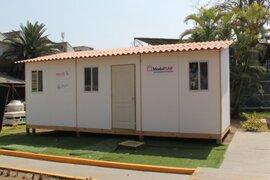 Instalan primeros módulos de vivienda para damnificados por El Niño costero