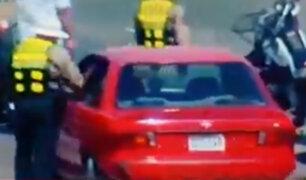 Callao: vehículo arrastra a policía cuando realizaba intervención