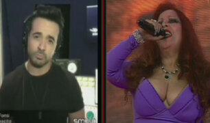 """Monique Pardo hace dupla con Luis Fonsi y juntos cantan """"Despacito"""""""