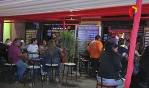 Clausuran bares clandestinos en San Juan de Miraflores