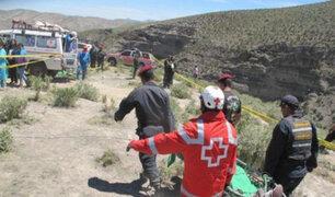 Cerro de Pasco: 8 muertos y 25 heridos deja choque entre bus y camión