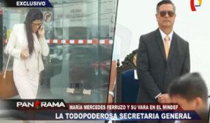 Secretaria general del Ministerio de Defensa renunció tras cuestionamientos