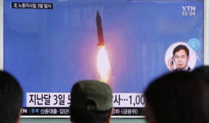 Pese a advertencias Norcorea lanzó un nuevo misil balístico