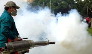 Iquitos: intensifican campaña de fumigación  para combatir  los vectores del dengue
