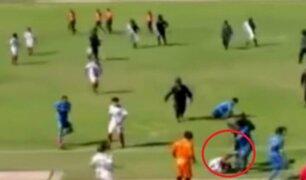Partido entre jugadores de Estrella Roja y Defensor Acomayo terminó en pelea