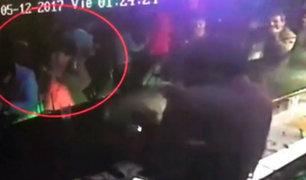 Andahuaylas: joven es agredido con jarra de vidrio al interior de discoteca