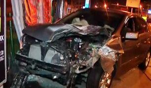 San Miguel: mujer provocó triple choque que dejó 7 personas heridas