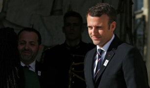 Presidente francés Emmanuel Macron visitará Lima en setiembre