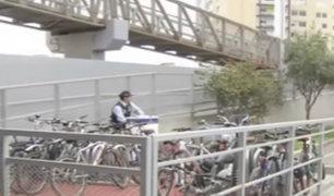 Barranco: Metropolitano implementó tercer estacionamiento de bicicletas
