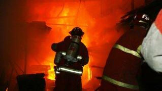 Chorrillos: incendio en vivienda deja una persona fallecida