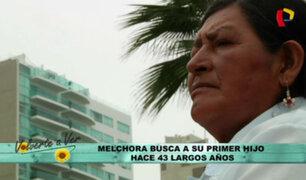 Melchora: La búsqueda de una madre separada de su hijo hace 43 años