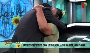 Así Melchora se reencontró con su hijo Javier después de 43 años