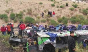 Andahuaylas: bus se desbarranca y causa la muerte 13 personas