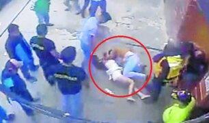 Huánuco: policías envueltos en una pelea tras salir de discoteca