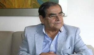 Exministro Ugarte afirma que falta de medicinas en INEN es por recorte presupuestal