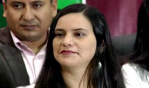 """Verónika Mendoza sobre PPK: """"Si no puede aclarar las denuncias que lo involucran, que renuncie"""""""