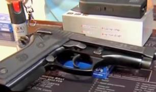 Mininter: cancelan más de 180 mil licencias vencidas de armas de fuego