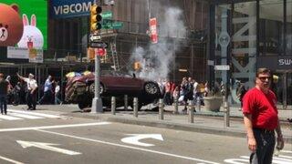 EEUU: un muerto y 13 heridos deja atropello en Times Square