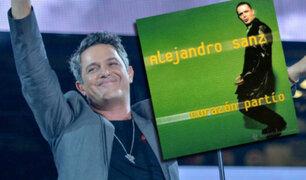 """Alejandro Sanz: se celebran 20 años de la canción  """"Corazón Partío"""""""