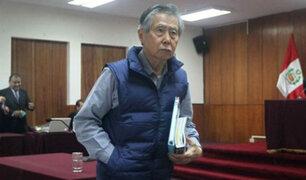 Alberto Fujimori dejó clínica y regresó a su prisión en la Diroes