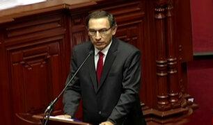 Ministro Martín Vizcarra respondió por más de tres horas sobre caso Chinchero