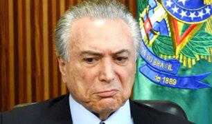 Tribunal Supremo de Brasil investigará a Temer por obstrucción a la justicia