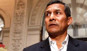 Ollanta Humala recibió la visita de su madre a pocas horas de ser liberado