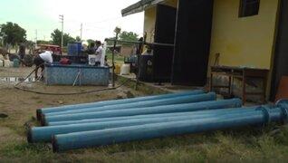 Piura: más de 12 mil personas beneficiadas con restablecimiento del servicio de agua