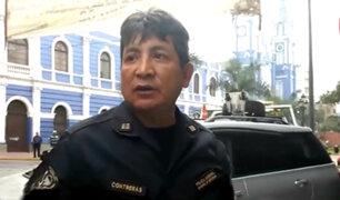 Policía agrede a fiscalizadora tras resistirse a intervención