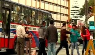 Mira cómo reaccionan los peruanos ante un caso de violencia en la calle