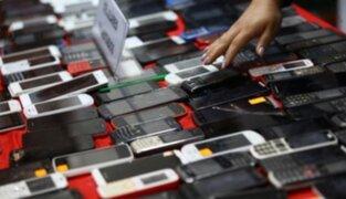 PNP decomisó cerca de 300 celulares de dudosa procedencia en operativos en Cercado y Carabayllo