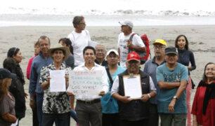 Barranco: vecinos protestan por construcción de megaproyecto en playa Los Yuyos