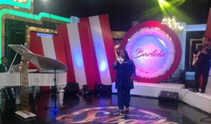 Bartola engalanó con su potente voz en Porque Hoy es Sábado con Andrés