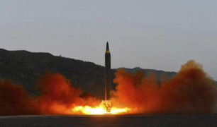 Corea del Norte lanza un misil de medio alcance