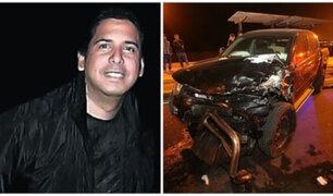 Accidente Costa Verde: Guillermo Riera llora y dice que no vio las motos