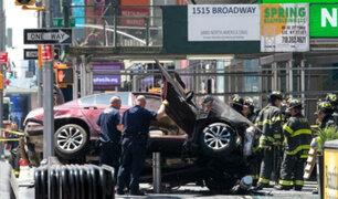 Terror en Times Square: Un muerto y más de 20 heridos en atropello en Nueva York
